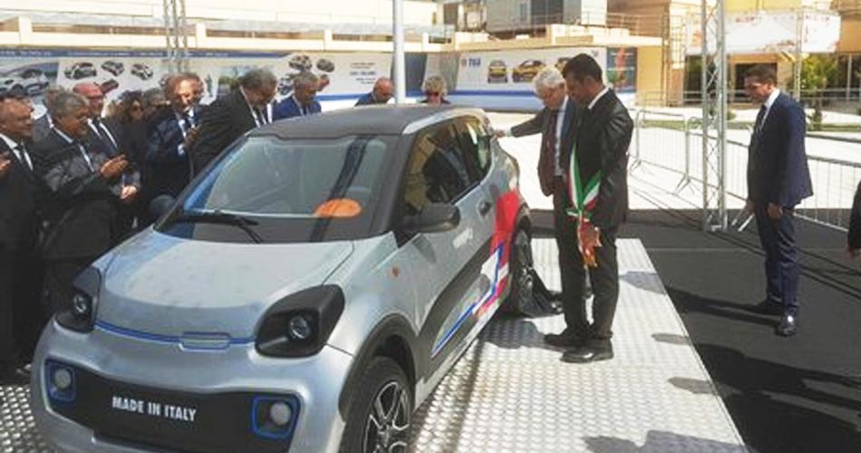 Un'auto elettrica tutta made in Bari La vettura sarà presentata in Fiera