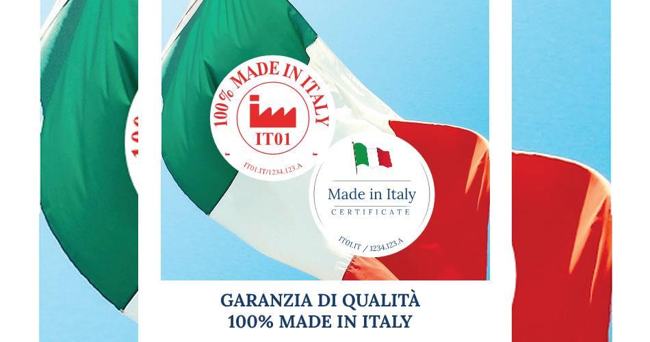 La Certificazione 100% Made in Italy