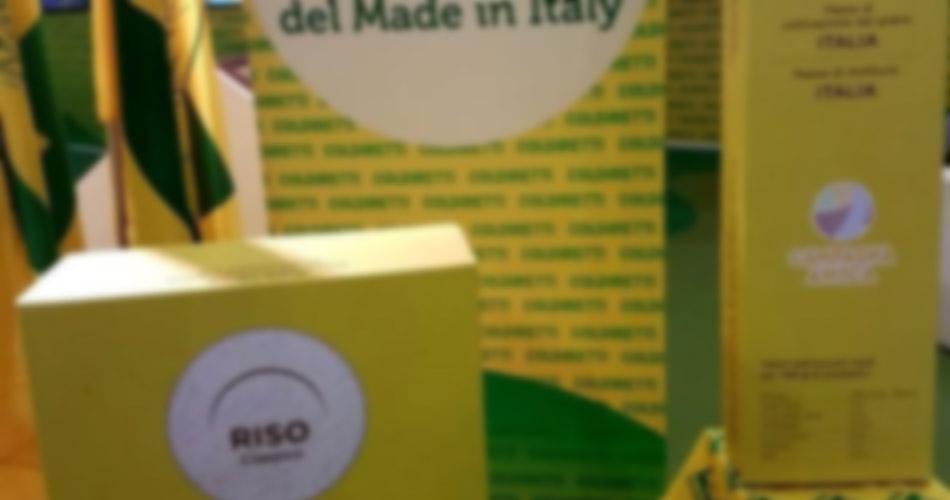 Made in Italy, scatta l'obbligo d'etichetta per pasta e riso