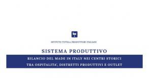 d5071f870efda SISTEMA PRODUTTIVO RILANCIO DEL MADE IN ITALY NEI CENTRI STORICI ...